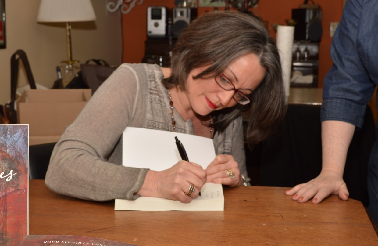 book signing one - diana