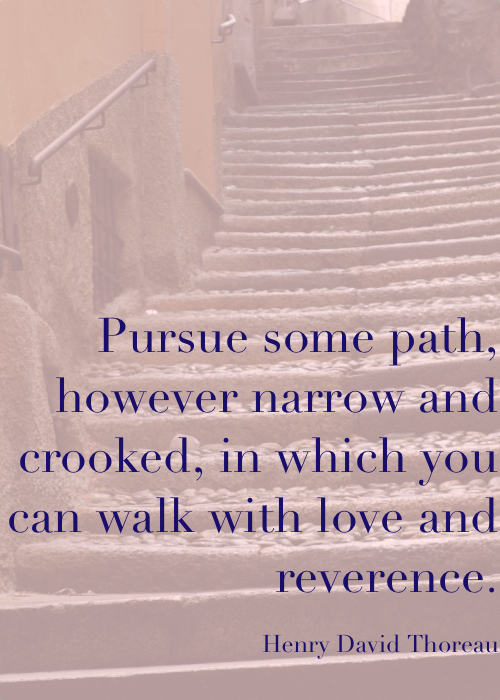 pursue some path