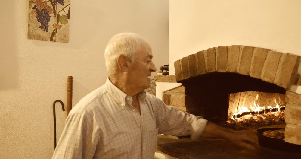 Aldo Avezza, winemaker/nonno Az. Agr. Paolo Avezza
