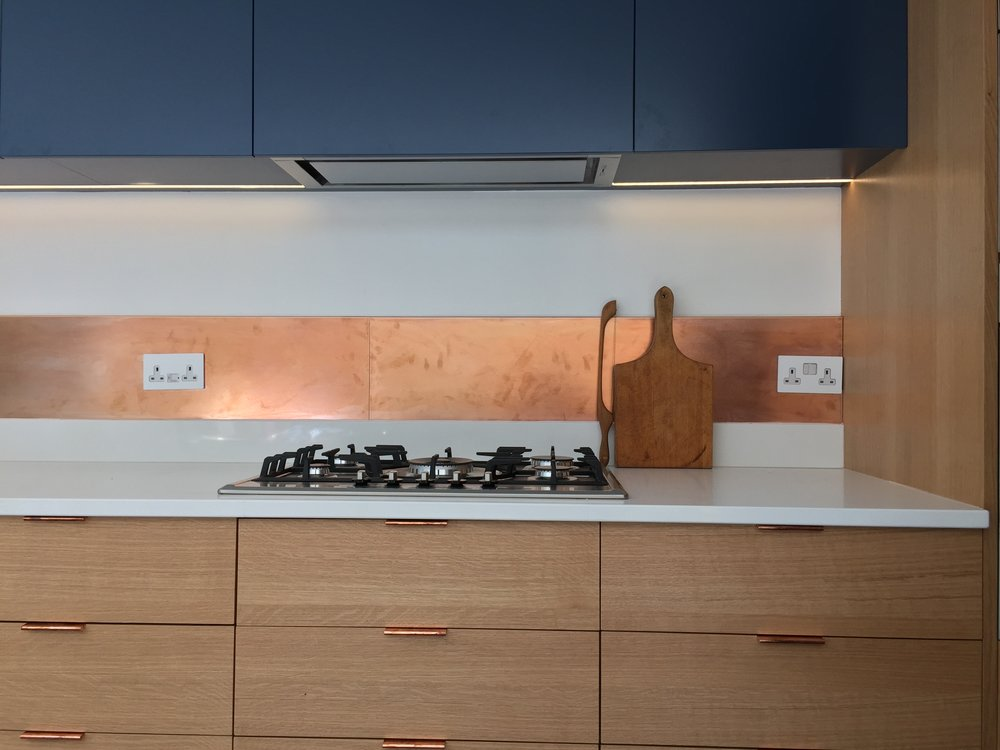Cooper Splashback kitchen