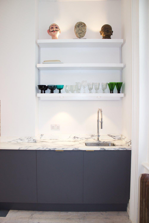 kitchen-oak-formica-marble storage shelves