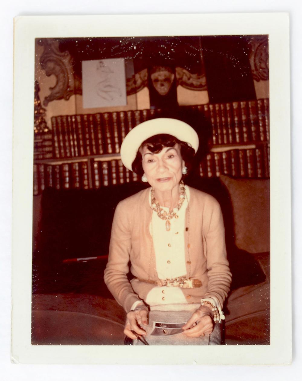 Coco Chanel - photographic portrait