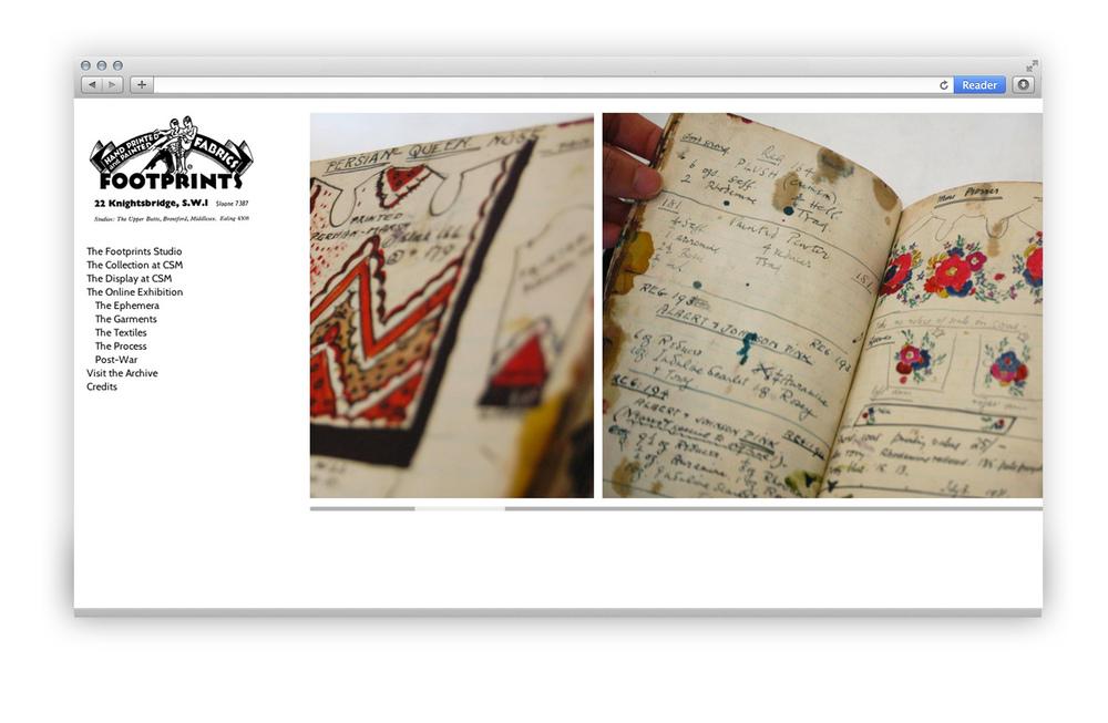 Footprints Garment Dye Book Screenshot