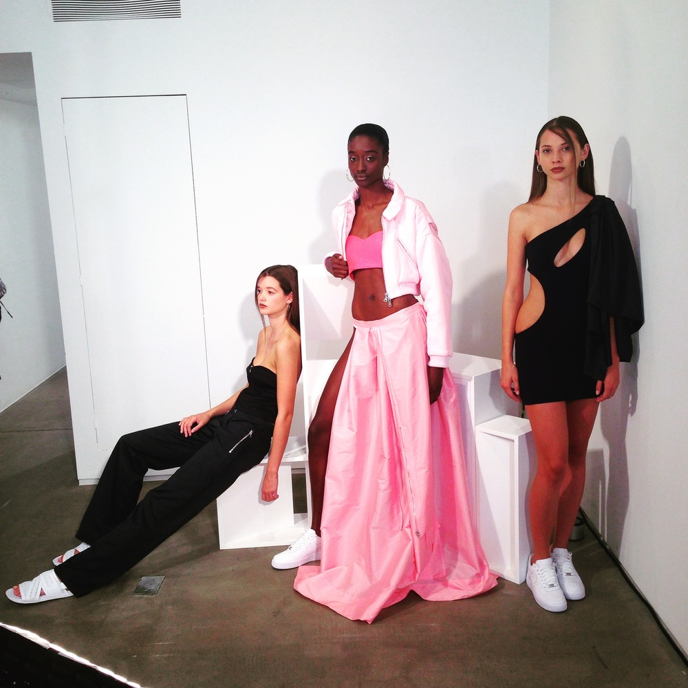 Caitlin Price presentation SS'16 Image: White Line Projects