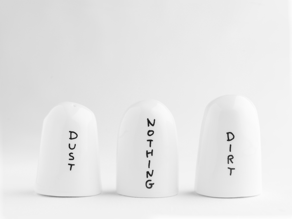David Shrigley ceramics for sketch