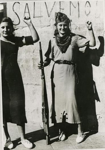 Militia women, Guadalajara. Image: Libcom Write here...