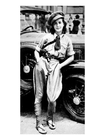 Female Chauffeur of Valencia's Communist Regiment. Image: art.com