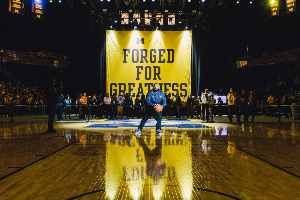 DJ Khaled helped us launch the new Jordan Brand x Michigan Basketball line.