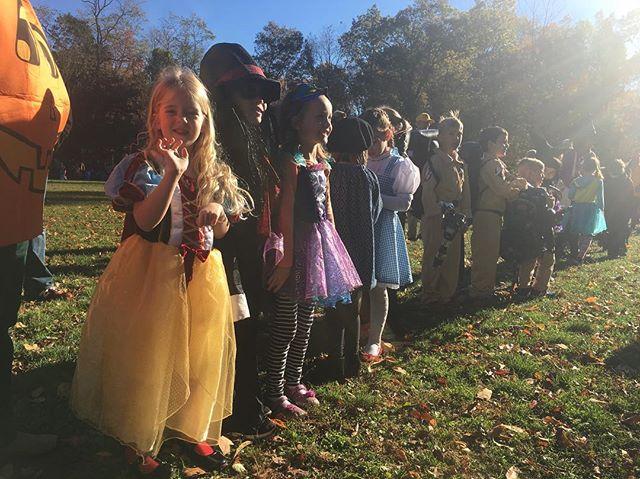 Her first ever school Halloween Parade.