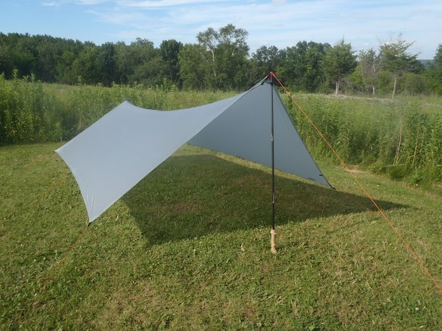 A simple tarp made out of spinnaker fabric (used like cuben fiber for yacht sails). When it arrived through my post box I couldnu0027t stop grinning. & Ultralight Makeover - Ditch the Dome u2014 Backpacking North
