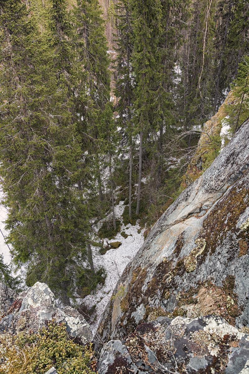 Häutäpäänkuru cliffs