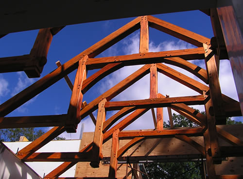 Triton International Woods Timber Framing Projects