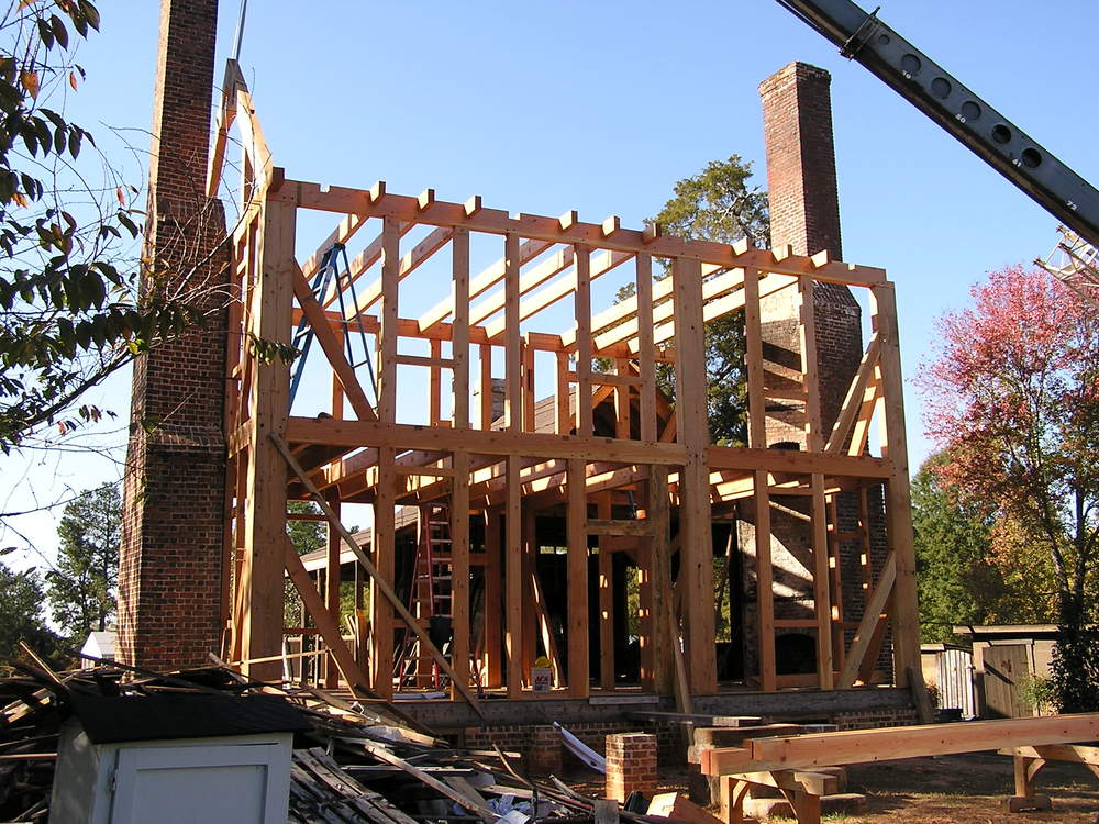 Timber Frame Home - Bunn, NC