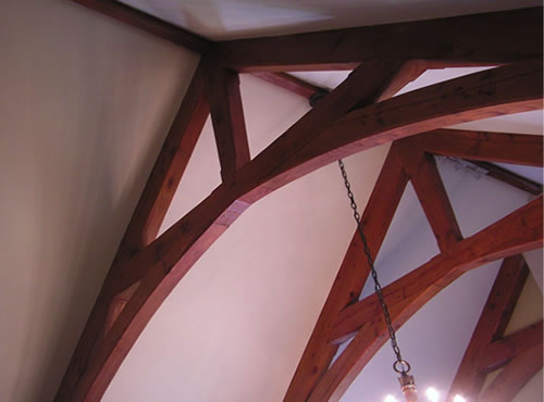 Arched Scissor Truss