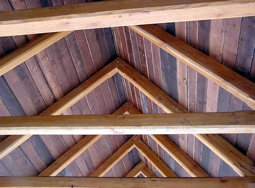 Common Rafter Timber Frame
