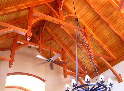 Hammer beam trusses - Beaufort, NC