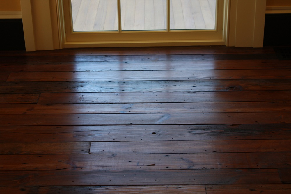 Old Original Antique Heart Pine Flooring