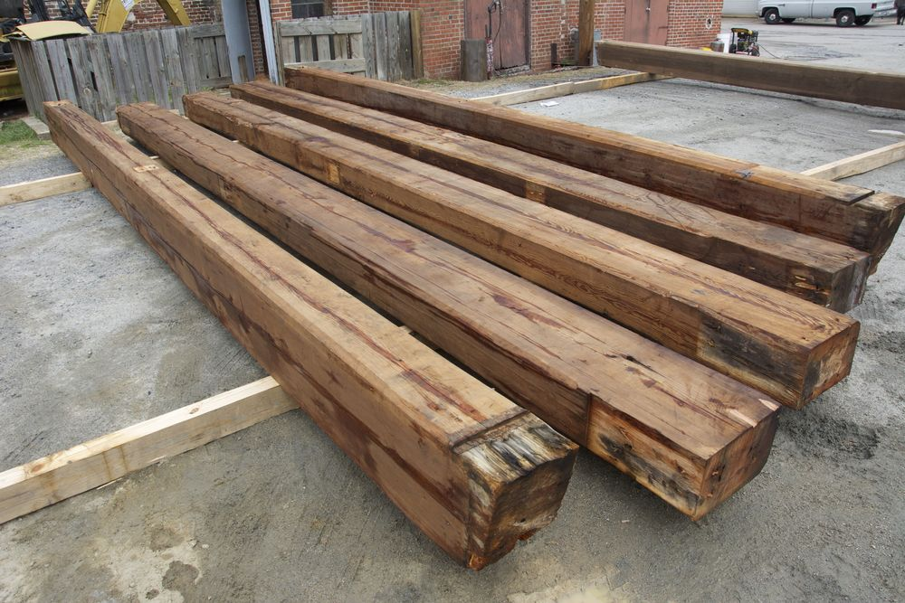 Reclaimed Wood Beams Triton International Woods