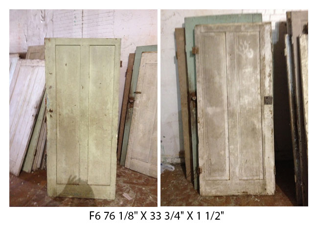 Reclaimed 2 Panel Doors