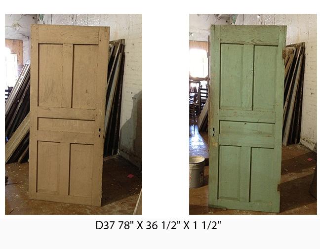 5 Panel Reclaimed Doors