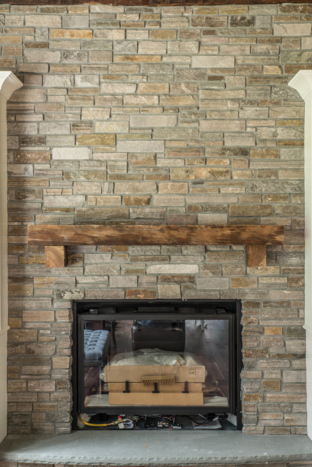 Reclaimed Mantle Beam