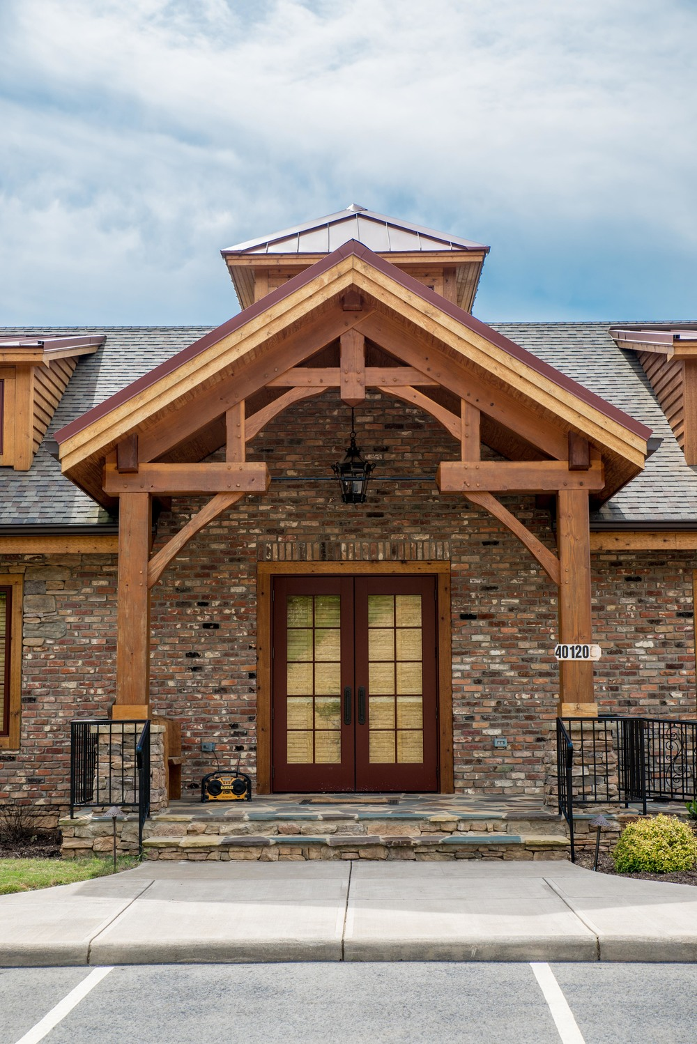 Front Entry Canopy • Albemarle, NC