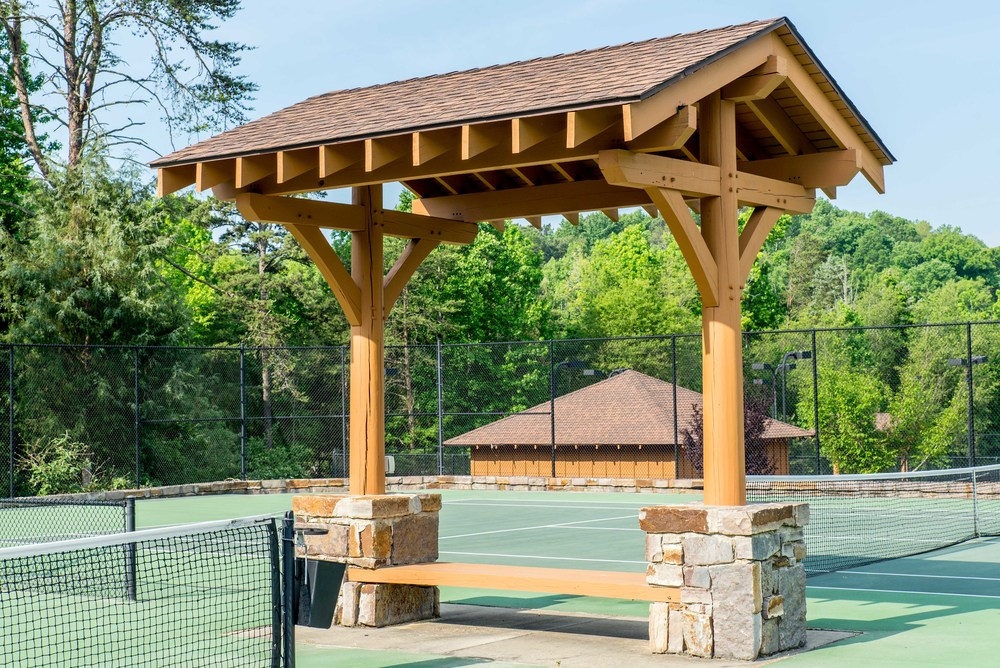 Heavy Timber Custom Pergola