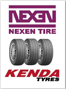 We stock top quality tires byNexen and Kenda.