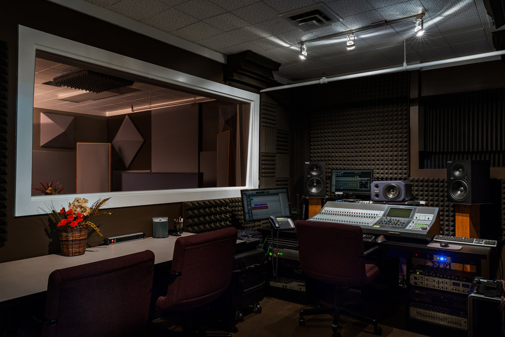 Studio B Control Room at River City Studios