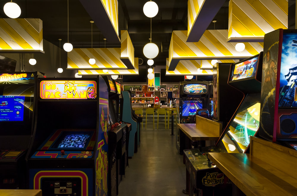 Roxy's A4 Arcade, Cambridge. MA