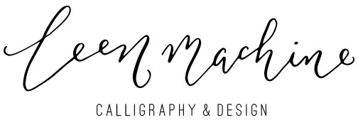 Leen Machine Calligraphy & Design