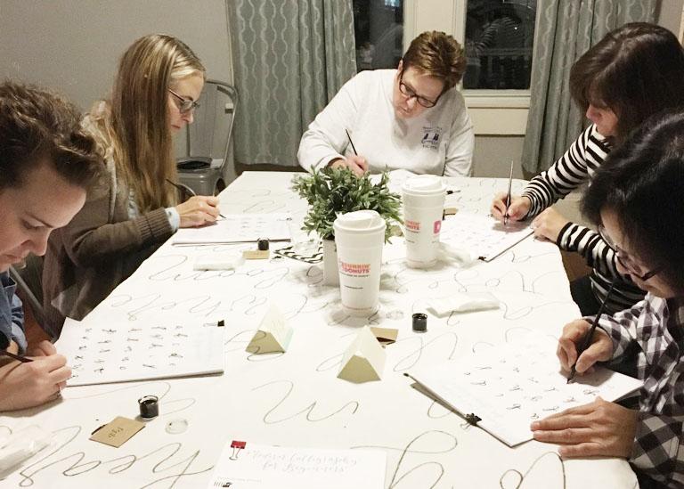 learn calligraphy, calligraphy class, calligraphy workshop, columbia south carolina, lexington  sc, charleston sc, greeville, sc_1.JPG