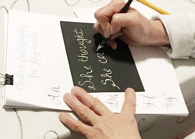 learn calligraphy, calligraphy class, calligraphy workshop, columbia south carolina, lexington  sc, charleston sc, greeville, sc_2.JPG