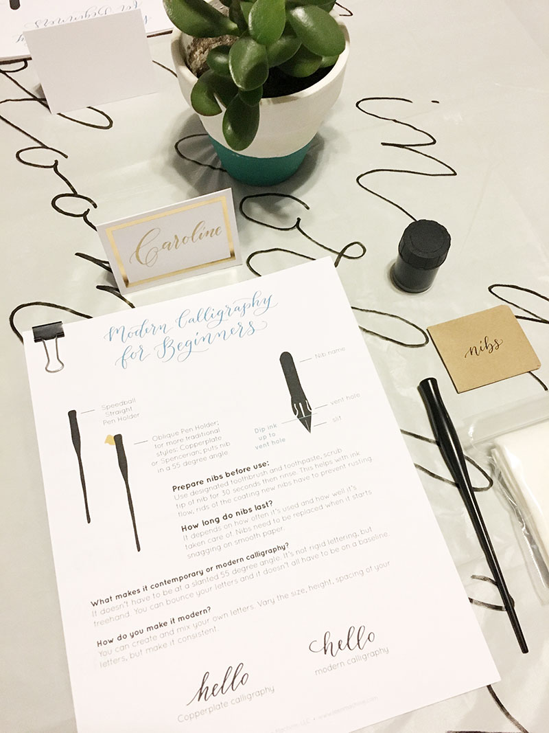 learn calligraphy, calligraphy workshop, wedding calligraphy, columbia, sc, lexington, sc_jan 02.JPG