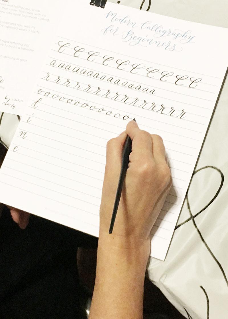 learn calligraphy, calligraphy workshop, wedding calligraphy, columbia, sc, lexington, sc_jan 04.JPG