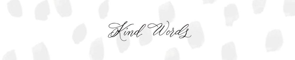 kind words, leenmachine calligraphy, columbia, sc.jpg