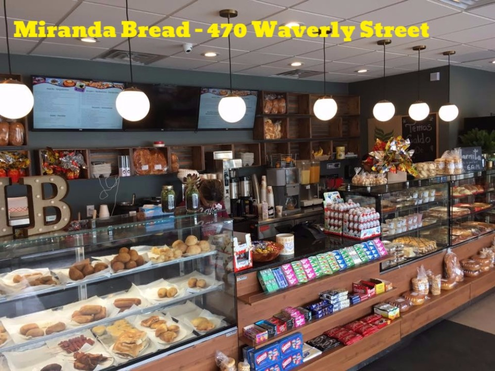 The tasty new transit stop - Miranda Bread - 470 Waverly Street- Sweet Pastries- Great treats!Discover this local chain's long history!