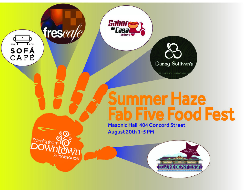 Taste an eclectic variety of foods at our Fab Five Food Fest!
