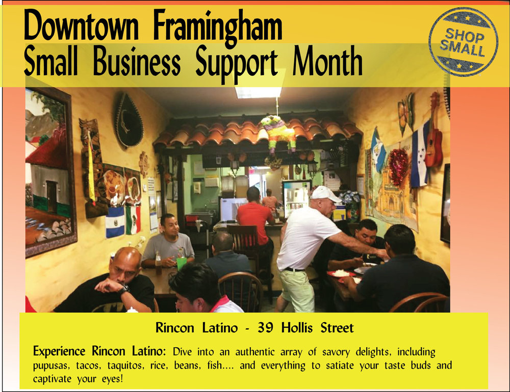 "It's Day 4 of Small Business Support Month! Reason #4 to shop small:  ""Shopping at one local business helps other local businesses. By shopping at a business in the neighborhood, you'll most likely stop by other independent retailers in the vicinity and create a ripple effect on the entire local economy."""