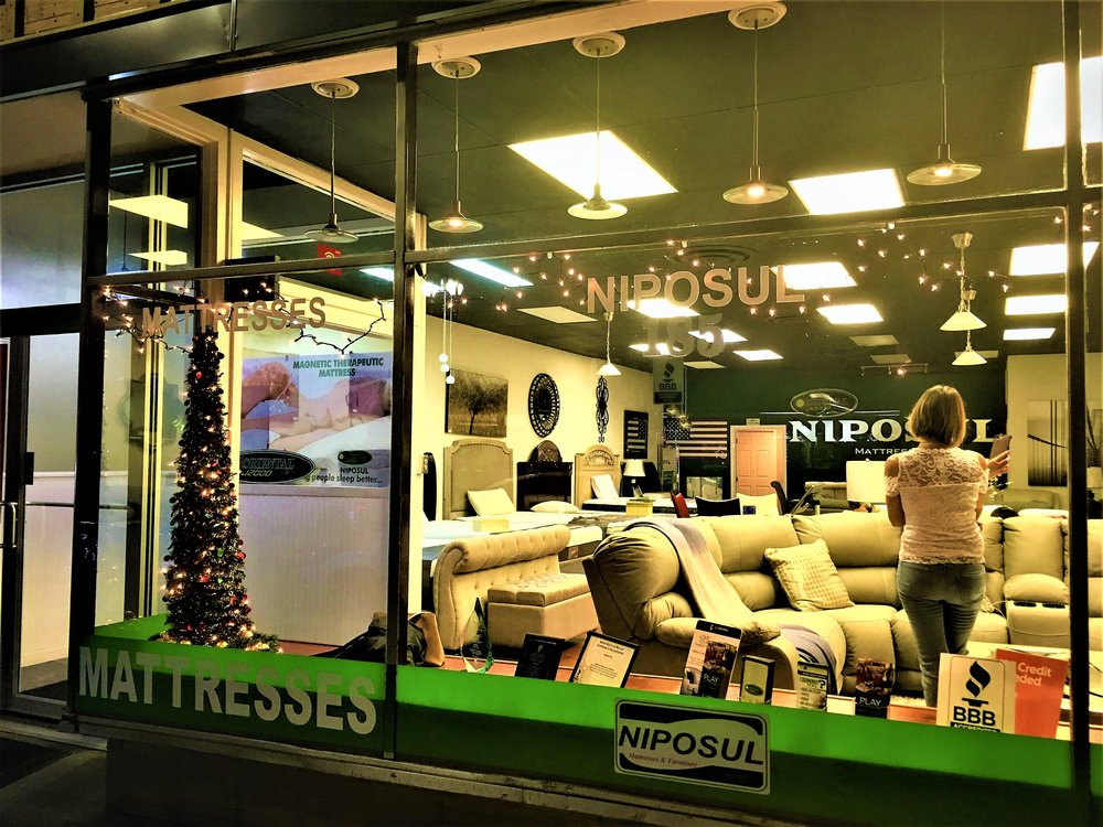 Niposul Mattress and Furniture   185 Concord Street