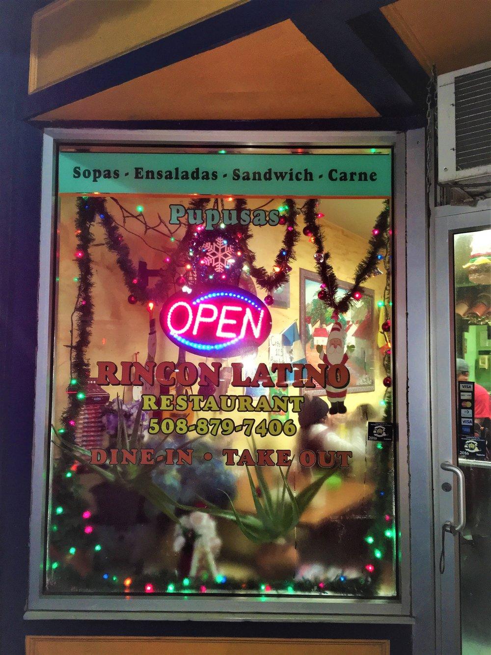Rincon Latino   39 Hollis Street