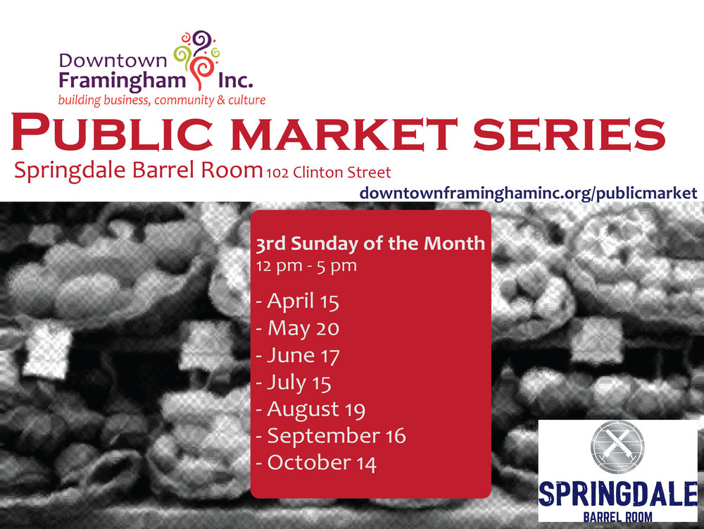 Public Market Series  - Register here today!