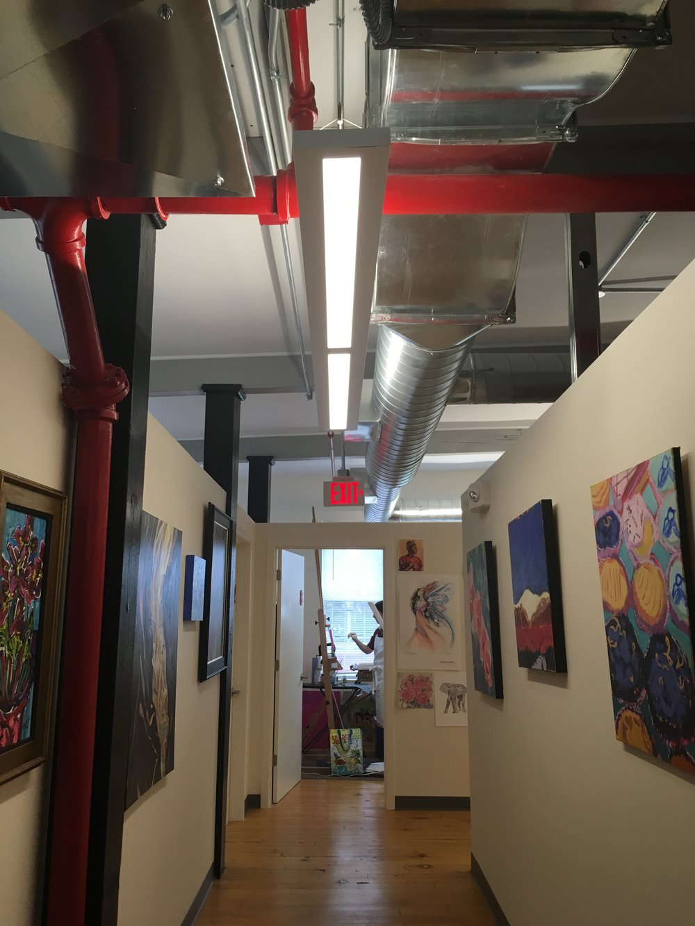 Howard Street Studios provides studios and galleries to local artists who live and work in downtown.