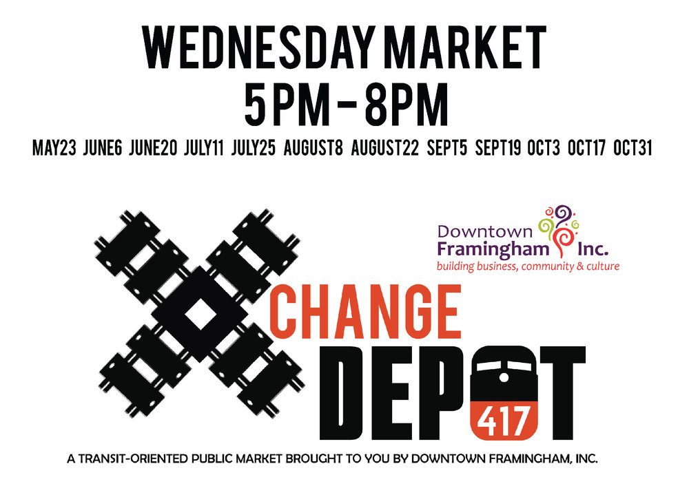 Xchange Depot - Visit the Xchange Depot every other Wednesday evening this summer at the Depot 417 parking lot.