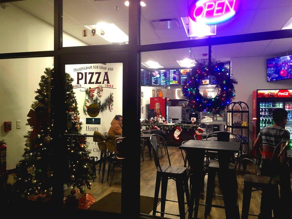 Framingham Sub Shop & Pizza  193 Concord Street