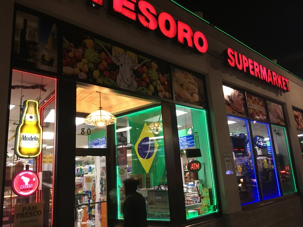 Tesoro Supermarket   80 Hollis Street