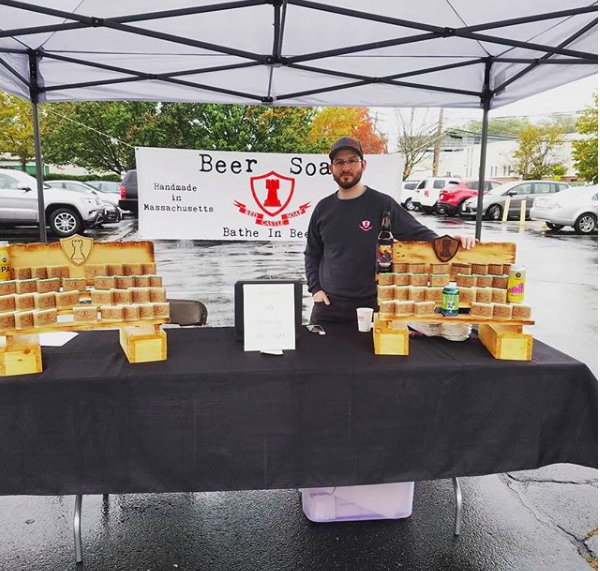 Red Castle Soap - Red Castle Soap, led by owner/operator Josh Aldenberg, has been providing beer soap for over 4 years now to breweries all over New England. Josh continuously refines his skills, using a myriad of different methods, beers, oils, fragrances, and colors.