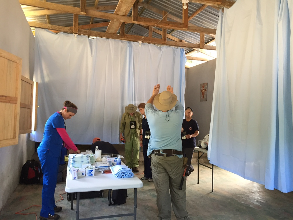 "Pope Francis asked for the parish to become a ""field hospital"". We took him literally!"