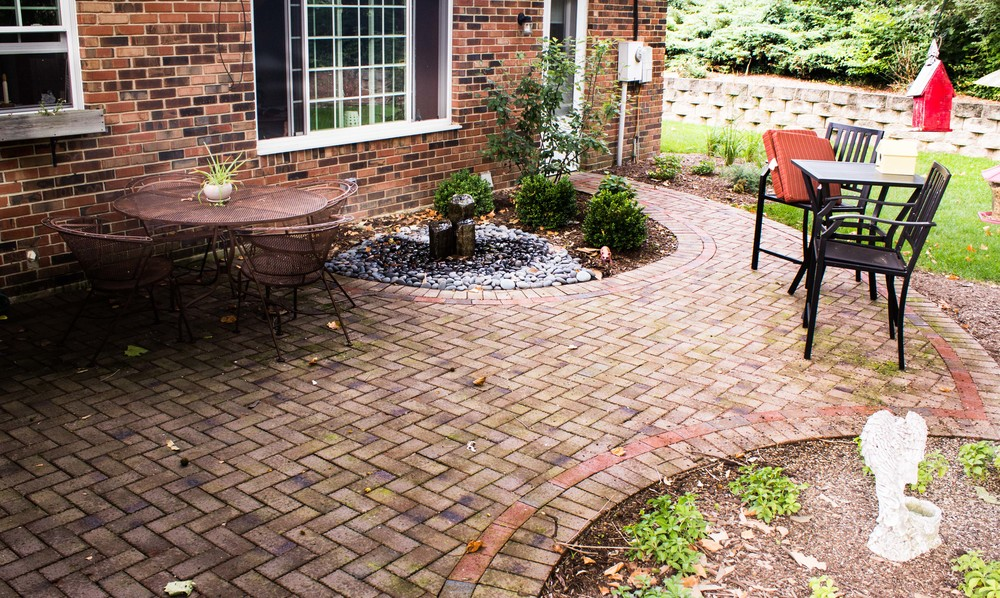 Clay Paver Patio