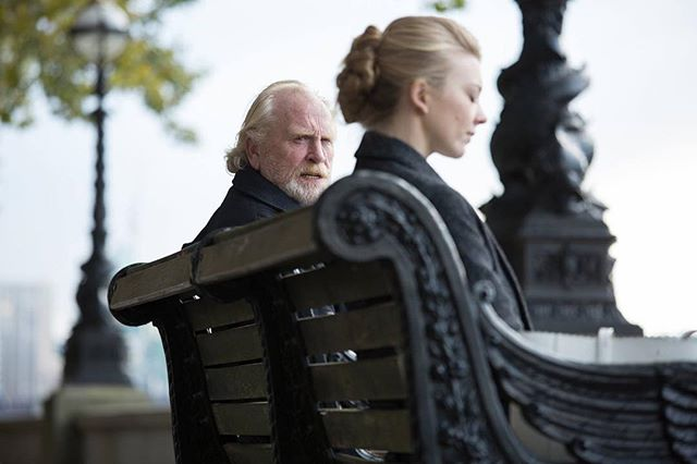 @realjamescosmo and #nataliedormer shot for thriller @indarknessfilm on the #southbank a little while back . Co-written by Natalie and #director #anthonybyrne, this will be out in the Uk at the beginning of July #film #filmphotography #portrait #cinematography #cinema #gameofthrones #actor #fotografia